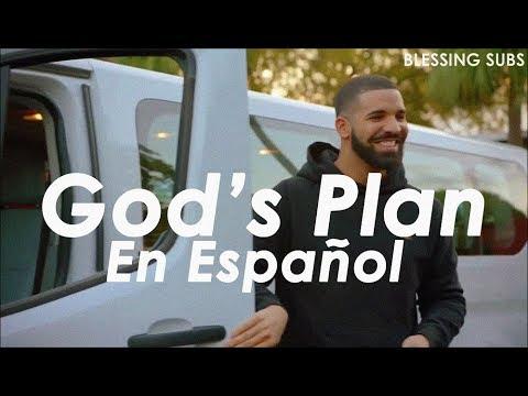 Drake - God's Plan (Sub en Español) (видео)