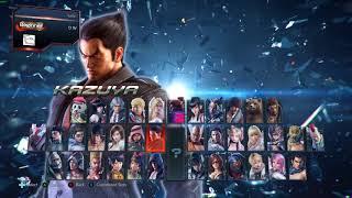 Tekken 7 PC Menu + (part of) Character Select Jukebox mod