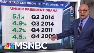 What Is The GDP And What Does Its 4.1 Percent Growth Mean? | Velshi & Ruhle | MSNBC