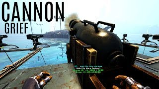 DESTROYING TOWERS w/ A CANNON and More - Official 6 Man Tribes (E21) - ARK Survival