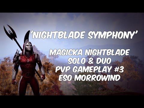 VIDEO] ''Stinky Wizard'' Magicka Nightblade PVP Build