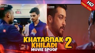 Khatarnak Khiladi 2 (Anjaan)(Spoof) Hindi Dubbed Full Movie   Suriya, Samantha, Vidyut Jammwal