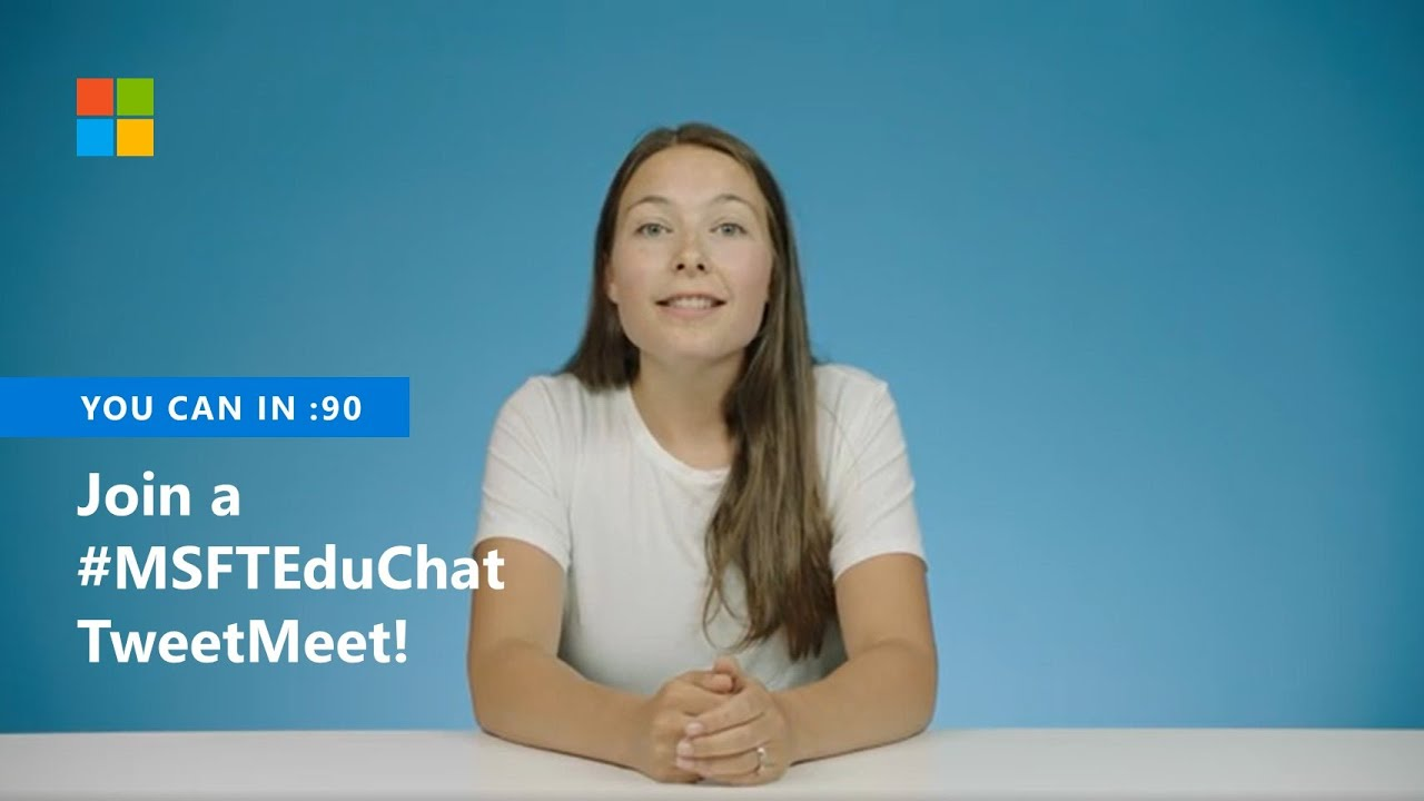 Video for Teaching and learning with Minecraft—#MSFTEduChat TweetMeet and Live Event on September 17