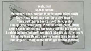 Motorsport lyrics - Migos, Nicky Minaj, Cardi B