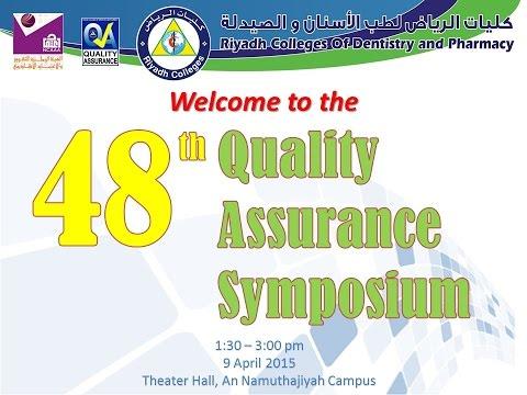 48th QA Symposium