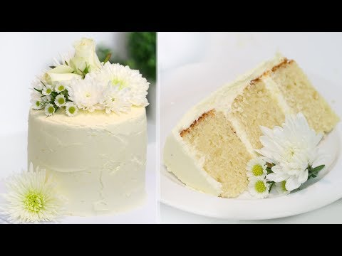 How to Make the ROYAL WEDDING CAKE!! Lemon Elderflower Cake | Prince Harry and Meghan Markle's Cake