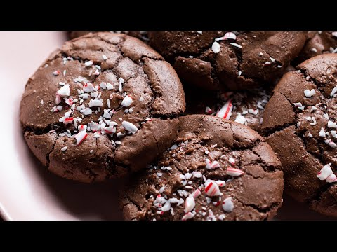 Peppermint Brownie Cookies Recipe by Jesse • Holiday Cookie Countdown • Tasty