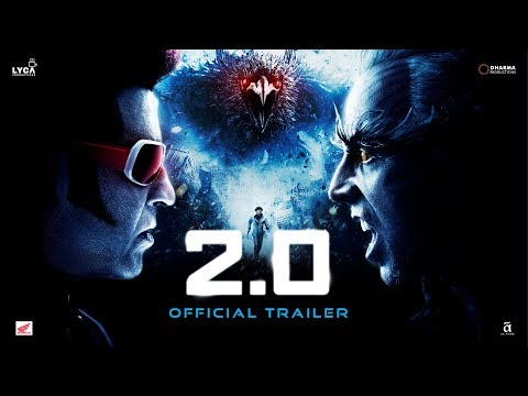 2.0 – Official Trailer Superstar Rajinikanth | Akshay Kumar – Must watch