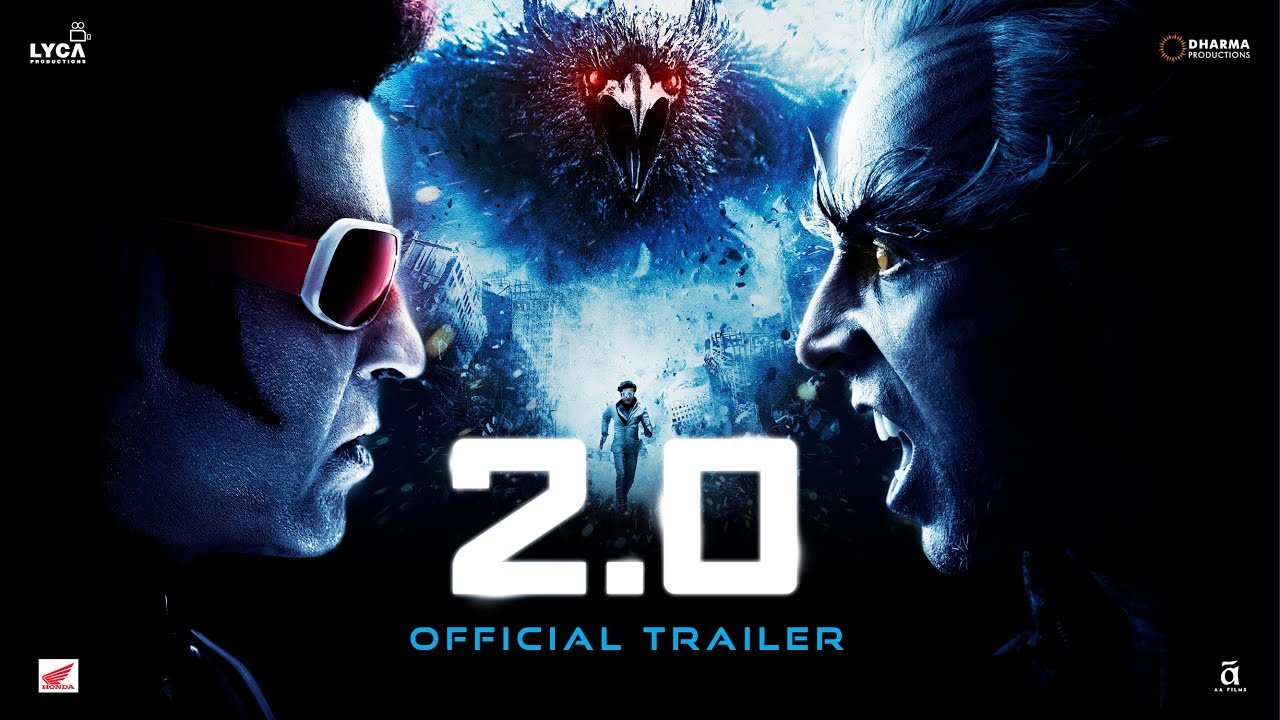 The Wait Ends Here: 2.0 Official Trailer Has Been Released