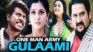 One Man Army - Gulaami  Full Movie | Ilaignan | Latest Hindi Dubbed Movie | Namitha | Pa. Vijay