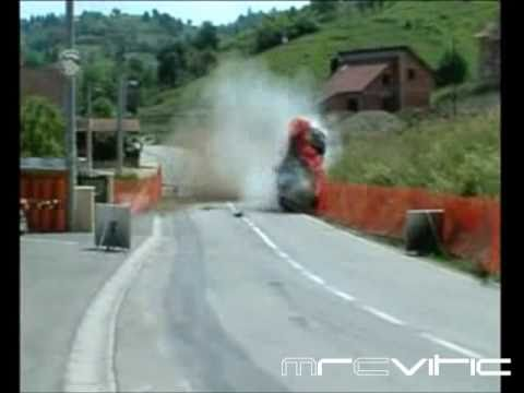 Extreme rally crashes compilation