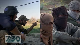 On the frontline of the final days of Islamic State's 'caliphate' | 7.30