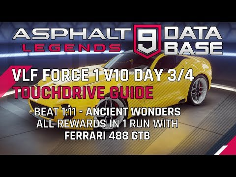 VLF Force Day 3/4 Ancient Wonders Touchdrive Guide