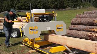 The Affordable, Easy-to-Use & Reliable Sawmill You