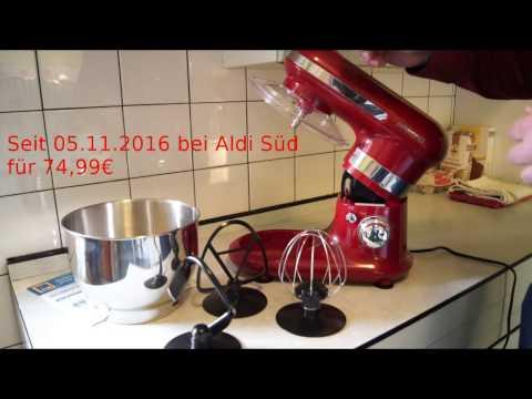 Aldi Ambiano Stand Mixer Demo Vinosalmundo