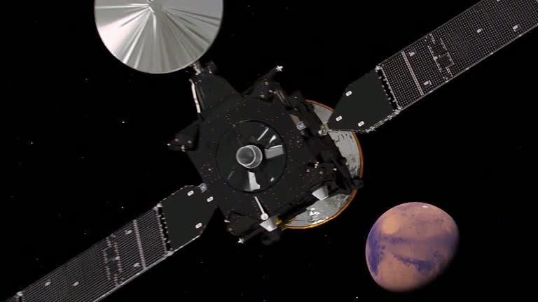ESA ExoMars at Mars