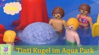 Playmobil Film Deutsch TINTI KUGEL IM AQUAPARK ♡ Kindergeburtstag Teil 2