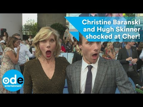 Christine Baranski and Hugh Skinner shocked at Cher!