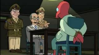 Futurama - Y El Extraterrestre Encontrado En Roswell Es... (Castellano)