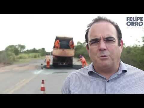 Deputado Estadual Felipe Orro recuperação de trechos da BR-267
