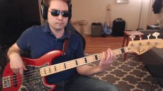 """I Hate Myself For Loving You / Heat of the Moment"" bass cover (Rock of Ages Broadway Cast)"