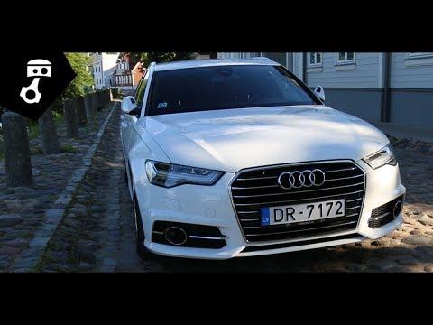 Audi  A6 Avant Универсал класса A - тест-драйв 1