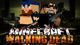 Minecraft Walking Dead Mod 1 - THE BEGINNING OF THE END(Walking Dead Series)