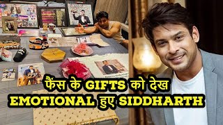 Bigg Boss 13 Winner Siddharth Shukla Showcased Fans Gifts On His Bed For Yt