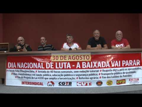 Dia Nacional de Mobilizações e Greve - 30 de Agosto