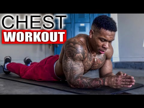 5 MINUTE CHEST WORKOUT(NO EQUIPMENT)