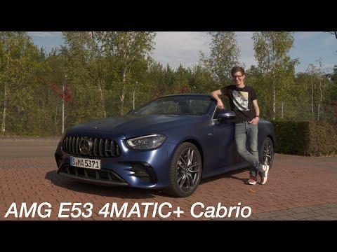 Mercedes-AMG E53 4MATIC+ Cabriolet Test: mehr AMG als zuvor - Autophorie