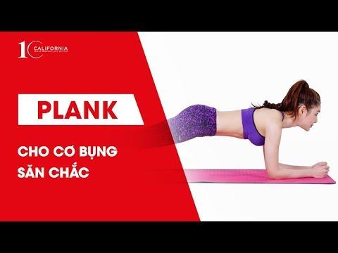 Workout #42 | Tập cơ bụng với bài tập Plank cho cơ bụng săn chắc | CFYC