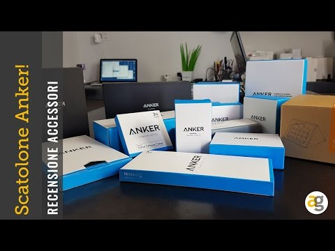 SCATOLONE di NATALE  01 Anker recensione gadget e accessori