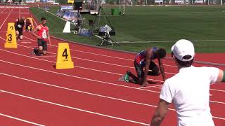 Mens U18 400m Hurdles Section 2   Legion Canadian Youth Track and Field Championships 2019
