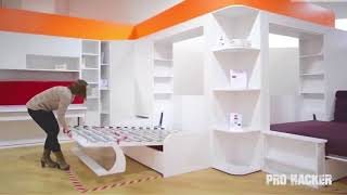 Great Space Saving Ideas   Smart Furniture