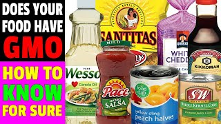 3 WAYS - HOW TO IDENTIFY GMO FOODS AT THE GROCERY STORE - How To Find Out Even If It's Not Labeled