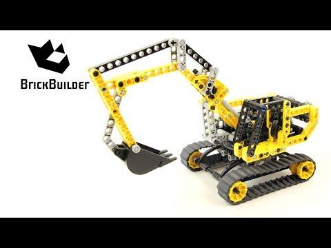 Vidéo LEGO Technic 8419 : La pelleteuse