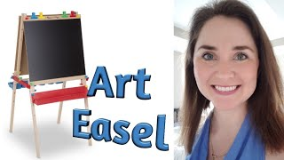 My Favorite Things: Melissa and Doug Art Easel - Kid Reaction!