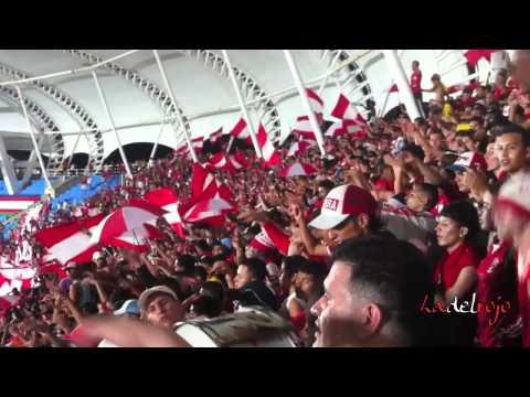 """""""La banda del Chanchero - Barón Rojo Sur - L.H.D.L.C - América vs Cali 14 de Marzo 2012"""" Barra: Baron Rojo Sur • Club: América de Cáli"""