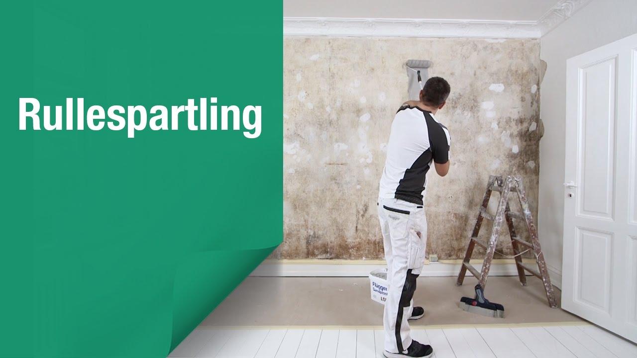 Sådan bliver det lettere at spartle lofter og vægge med rullespartling
