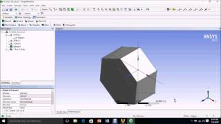 Material Selection in Ansys 16.0 | Apply Material