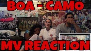 AKA REACTS! BOA   CAMO MV Reaction