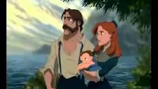 Tarzan - Zwei Welten eine Familie Video (German)