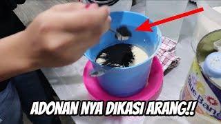GAK CUMA DIPANGGANG PAKE ARANG, ADONAN NYA JUGA DI MASUKIN ARANG!!!