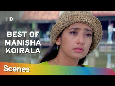 Best  Manisha Koirala Scenes from Mann (1999) Aamir Khan | Anil Kapoor - 90's Hit Romantic Movie