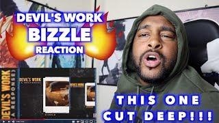 GOD TALKING BACK !!   BIZZLE   DEVIL'S WORK (JOYNER LUCAS RESPONSE)   REACTION