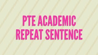 21 PTE Repeat Sentence Frequently Asked-4