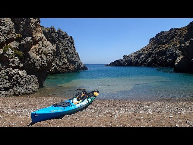 Sea Kayak touring in Kythera & Elafonisos islands (Greece)