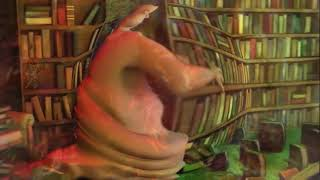 Globglogabgalab but every time he says his name the video descends deeper into psychedelic madness