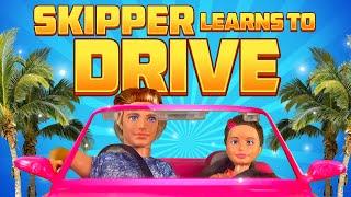 Barbie - Skipper Learns to Drive | Ep.89
